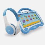 Mlab®Tablet Kids con Audífono PLAY LEARN Azul-01